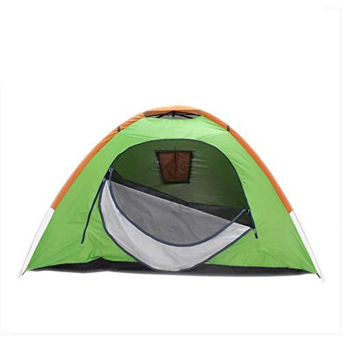 ダンプ各弱点TEAFOR テント キャンプ 帐篷 折りたたみ 軽量 設営簡単 簡易 テント 高通気性 紫外線カット 防雨?防風 アウトドア用品 登山 (グリーン)