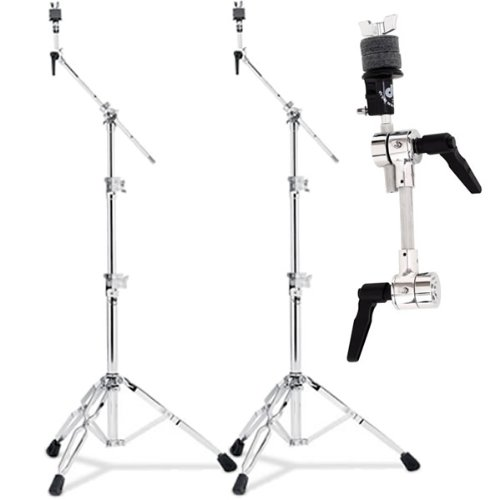 DW 9000 Series 9700 Cymbal Stands (2) & DWSM2031 Puppy bone Cymbal Arm (1) Drum Workshop Inc.
