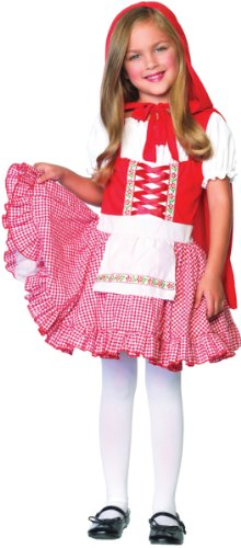 Leg Avenue Lil' Miss Red Child Costume (Small 4-6)