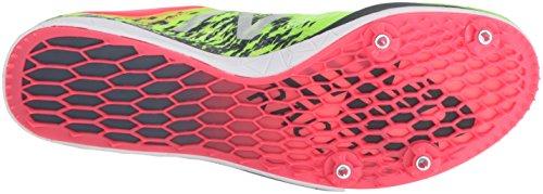 New Balance LD5000v4 Larga Distancia Women's Zapatilla De Correr Con Clavos - AW16 amarillo y rosa (Yellow/Pink)