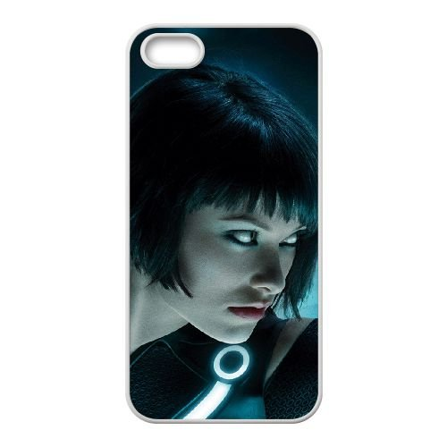Tron 11 coque iPhone 4 4S cellulaire cas coque de téléphone cas blanche couverture de téléphone portable EOKXLLNCD20521