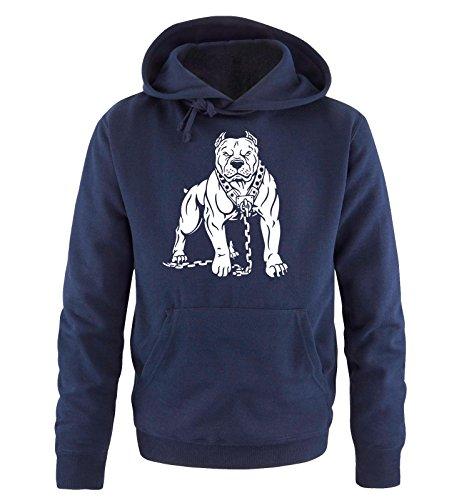 Taglia Hoodie Pitbull Blu Navy S Sweater Uomo xxl Comedy Bianco Cappuccio Shirts 5q6t4xwY