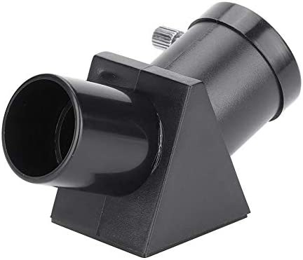 """Serounder 0.96"""" 45 Degree Diagonal Adapter Erecting Image Positive Prism Optic Mirror for Telescope Eyepiece Accessories"""