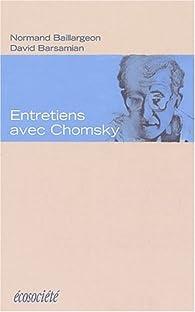 Entretiens avec Chomsky par Noam Chomsky