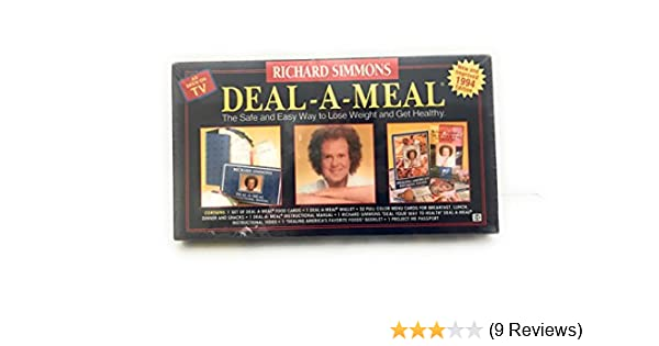 photo about Deal a Meal Cards Printable titled : Richard Simmons Offer-A-Dinner: Richard Simmons