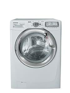 Hoover WDYN 9646 PG lavadora - Lavadora-secadora (Frente, Independiente, Color blanco, 6 kg, 1400 RPM, A)