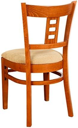 Beechwood Mountain BSD-27S-C Solid Beech Wood Side Chairs