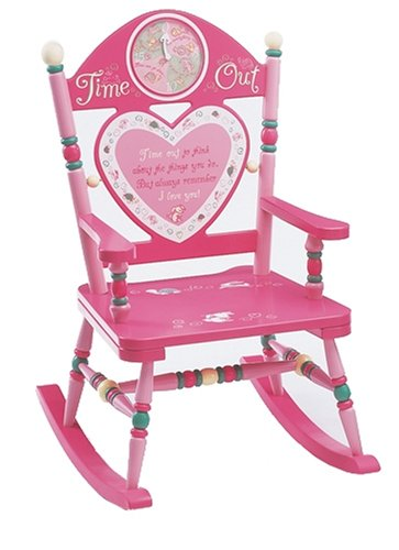 Wildkin Time Out Rocking Chair - Girl by Wildkin