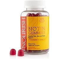 90-Count Hair Skin and Nail Vitamins Gummies Biotin Gummies