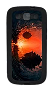 covers crazy fantasy underworld light TPU Black case/cover for Samsung Galaxy S3 I9300