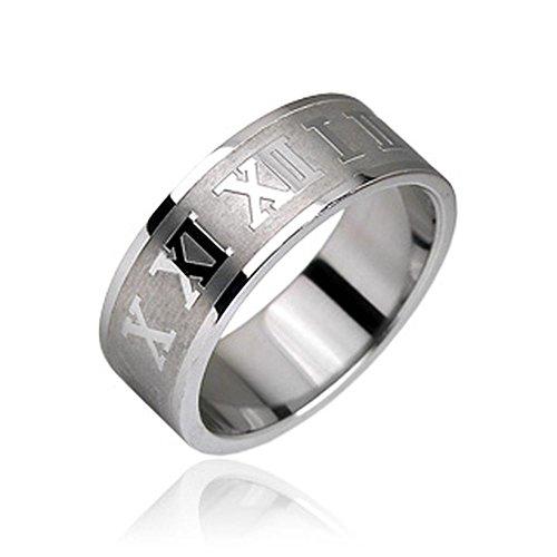 Bungsa® Römische Nummern Ring