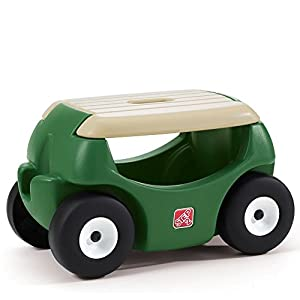 Amazoncom Step2 Garden Hopper Seat with Wheels Heavy Duty