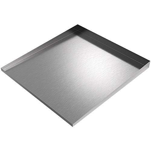 Stainless Front-Load Washer Floor Tray ()