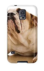 Cute Appearance Cover/tpu KUwEoaE12160fwiEs Boxer Dog Border Case For Galaxy S5 by icecream design