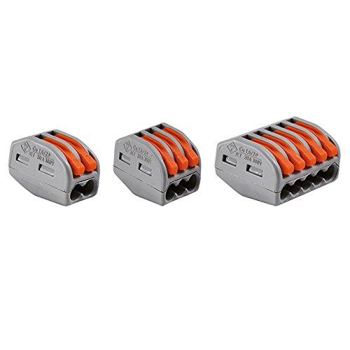 2 opinioni per valigia 50 morsetti per fili conduttori flessibili e rigidi