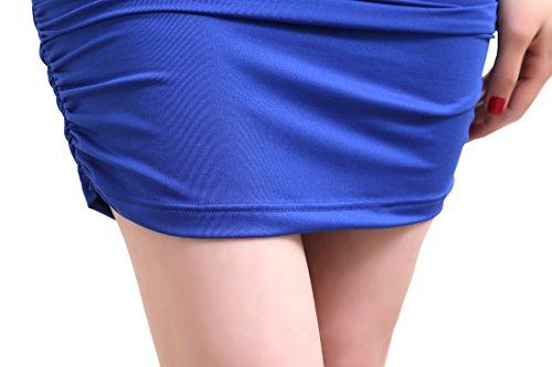 Mini Dingtoll Women's One Shoulder Blue Clubwear Dress wwptO