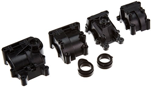 Team Losi Front/Rear Gearbox Set: (Front Gearbox Set)