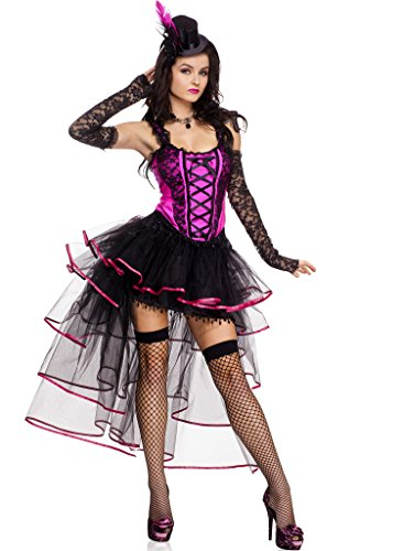 Burlesque Queen Adult Costume - Medium/Large (Sexy Teardrop Petticoat)