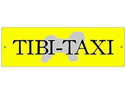 Plástico - Rótulo Auto (ventosas Tibi Taxi * amarillo ...