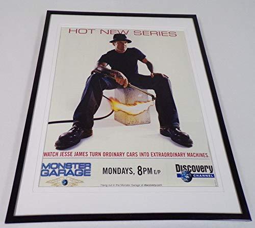 (Monster Garage 2002 Framed 11x14 ORIGINAL Advertisement Jesse James)