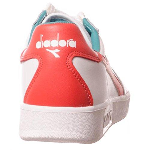 Diadora 501.170595 Sneakers Hombre WHITE RED GREEN