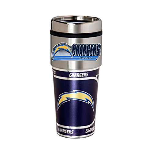 Great American Products San Diego Chargers 16oz. Stainless Steel Travel Tumbler/Mug