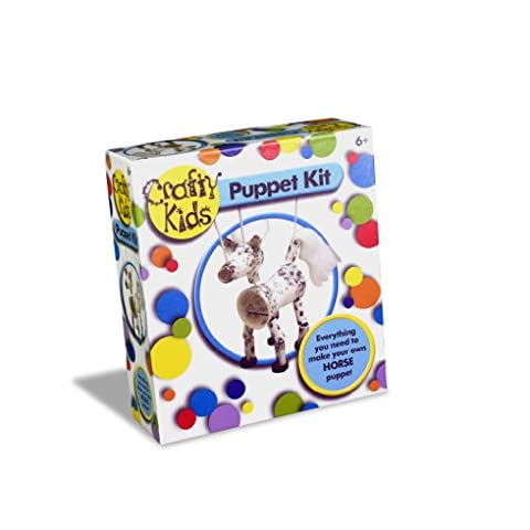 Paul Lamond Crafty Kids Puppet Kit Horse - Horse Puppet Kit