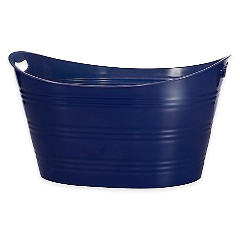 Creative Bath Storage Tub|Navy