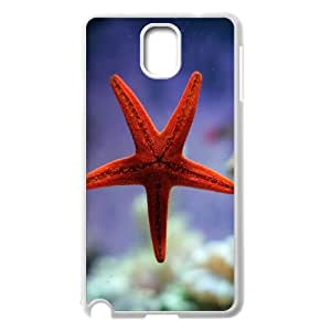 High Quality Phone Back Case Pattern Design 18Sea Star & Sea Dragon- For Samsung Galaxy NOTE3 Case Cover