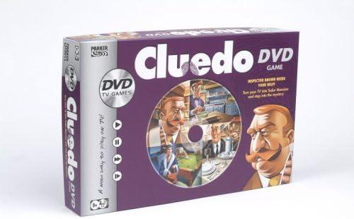 Parker Games - Cluedo DVD Game by Hasbro: Amazon.es: Juguetes y juegos