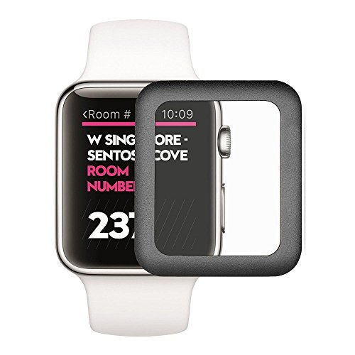 Aluminum Alloy Back Case for Apple Watch 42mm (Black) - 5