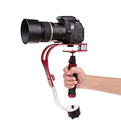 Video Camera Stabilizer >> Amazon Com Pro Camcorder Steady Cam Stabilizer Handheld Video