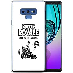 STUFF4 Gel TPU Phone Case/Cover for Samsung Galaxy Note 9/N960 / Last Man Standing Design/FN Battle Royale Collection