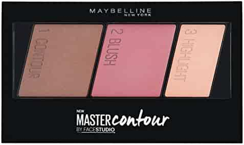 Maybelline Facestudio Master Contour Face Contouring Kit, Medium to Deep, 0.17 Ounce