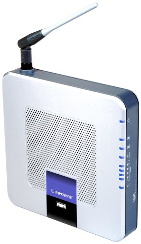 Linksys by Cisco WRTP54G Wireless-G Broadband Router for Vonage Internet Phone Service (Router 802.11g Wifi Broadband)
