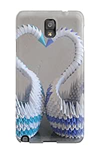 New Design Shatterproof RktMZII25103ArwDP Case For Galaxy Note 3 (d Origami )