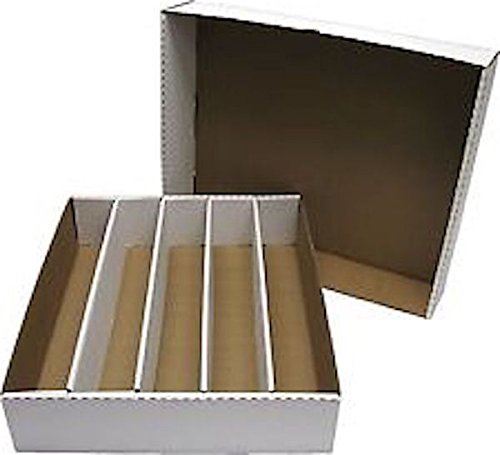 BCW Super Monster Storage Box (5000 Ct.) (Quantity of 25) by BCW