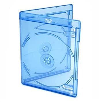 Viva Elite Blu-ray Disc de 2 fundas Slim 6 mm – 50 Unidades, color azul