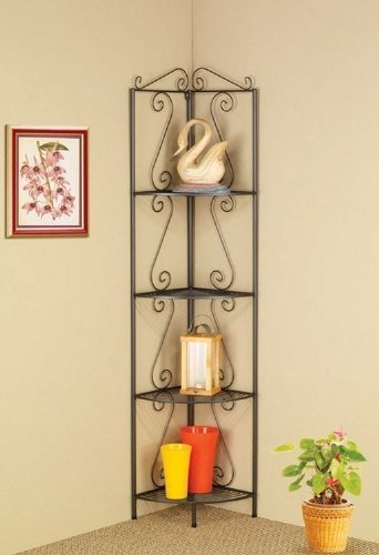 4-TIER-CORNER-SHELF-DARK-GARY