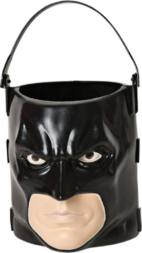 [Batman: The Dark Knight Rises: Batman 3D Trick-or-Treat Pail (Black)] (Trick Or Treat Costumes For Kids)