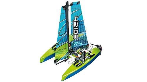 LEGO - Technic Catamarano, Set di Costruzione e Idea Regalo per Ragazzi di +8 Anni, 42105 7 spesavip