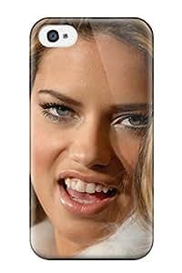 High Grade ZippyDoritEduard Flexible Tpu Case For Iphone 4/4s - Adriana Lima