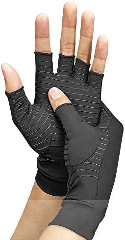 関節炎の手袋、変形性関節症 - 関節炎の関節の痛みを軽減するためのリウマチ圧縮手袋 - 手根管手首のサポート - コンピューター