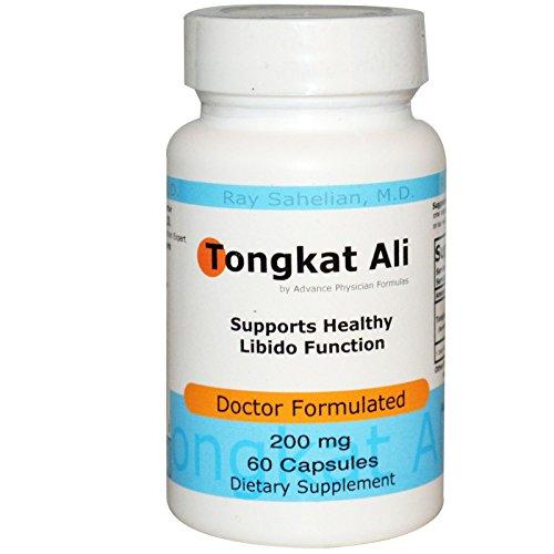 Advance Physician Formulas, Inc., Tongkat Ali, 200 mg, 60 Capsules - 3PC by Advance Physician Formulas, Inc.