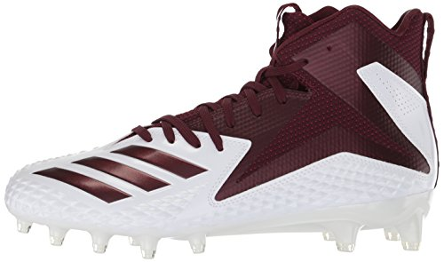 Pictures of adidas Men's Freak X Carbon Mid DB0570 White/Maroon/Maroon 5
