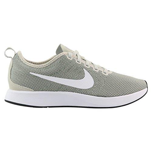 Nike Herren Dualtone Racer Grün Mesh Sneaker Grün (Dark Stucco/White/Light Bone/Wolf Grey)