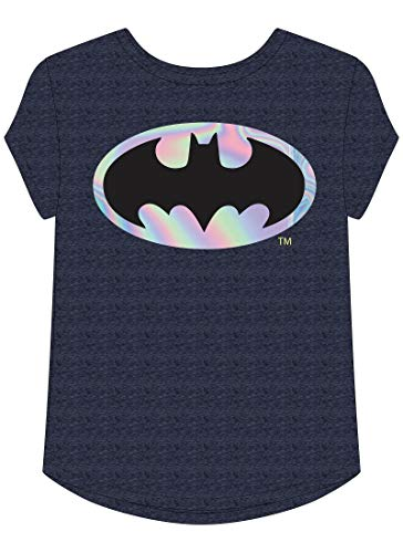 Jumping Beans Toddler Girls 2T-5T DC Comics Batman Graphic Tee 2T Peacoat Navy