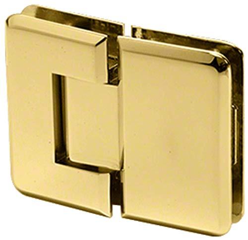CRL Pinnacle 180 Series Brass 180186; Glass-To-Glass Standard - Pinnacle Brass Series