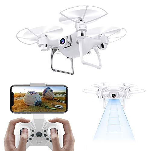Pakesi D1 Drone with FPV WIFi Camera,High Speed RTF Racing Drone, Portable Helicopter, Quadcopter with Altitude Hold, 3D Flips, Headless Mode and One-key Landing/Taking off by Pakesi