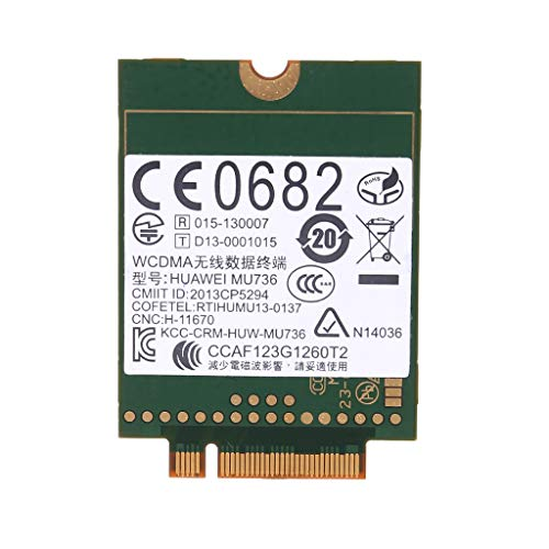 Carise WWAN Card NGFF M.2 Wireless 3G for Huawei MU736 WCDMA HSP HSPA+ Edge GPRS GSM Module